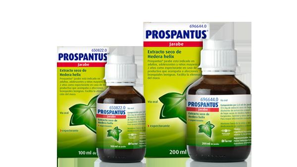 Jarabe para tos productiva Prospantus